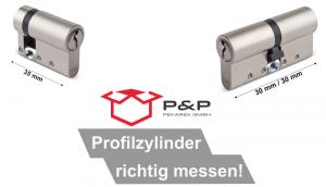 Read more about the article Profilzylinder richtig vermessen!